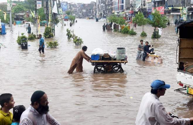 PAKISTAN-WEATHER-RAIN